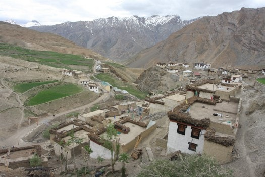 Kibber village(Lahaul & Spiti )