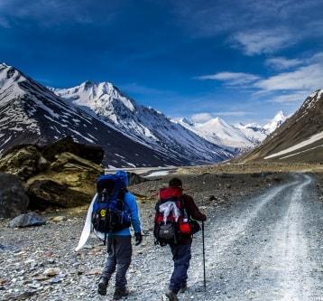 Trekker's in Spiti valley