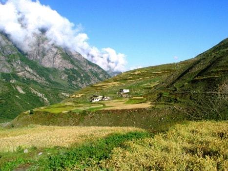 View of Chasak Bhatori (Pangi Valley)