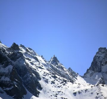 View of Kinner Kailash